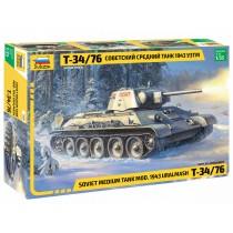Soviet Medium Tank T-34/76 1/35