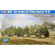 M3A1 Late Version Tow 122mm Howitzer M-30 1/35