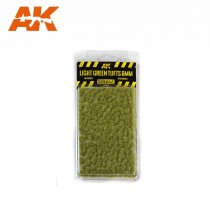 LIGHT GREEN TUFTS 6mm