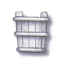 Cubo de madera 9 mm (4 uds)