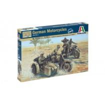 German (WWII) Motorcycles. 1/72