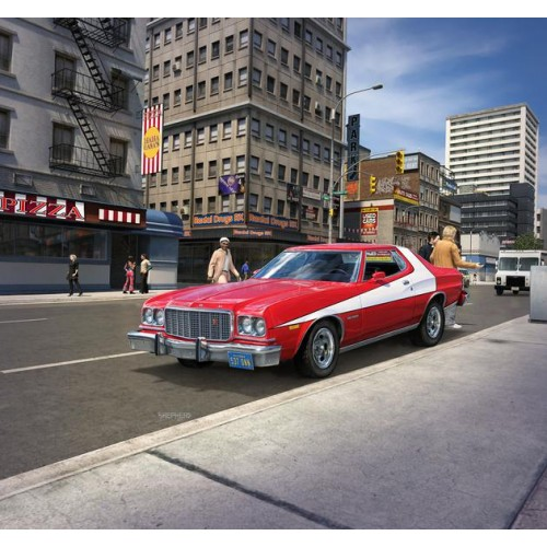 Starsky and Hutch's '76 Ford Torino 1/24