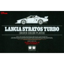 Lancia Stratos Turbo (Silver Color Plated)   1/24