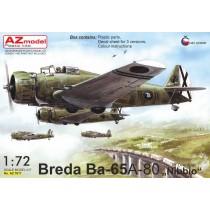 """Breda Ba.65A-80 """"Over Spain""""  1/72"""