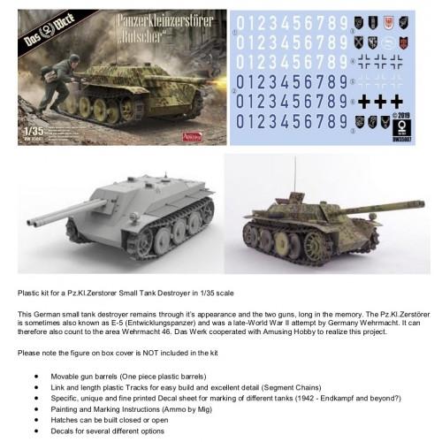 Panzerkleinzerstorer 'Rutscher' 1/35