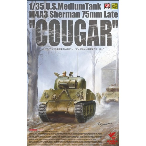 M4A3(76)W Thunderbolt (comanded by Col Creighton Abrams) 1/35