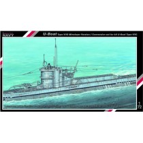 U-Boat type VIID, conversion set 1/72