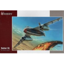 SNCASO SO.4050 Vautour IIA IDF Attack Bomber 1/72