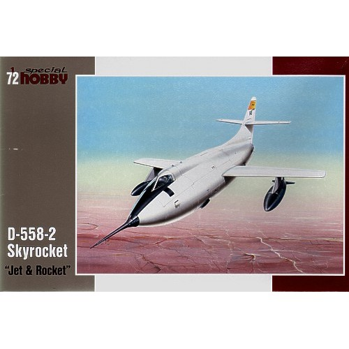 Douglas D-558-2 Skyrocket 'Jet and Rocket' 1/72