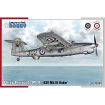 Fairey Barracuda Mk.III 'ASW Mk.XI Radar' 1/72