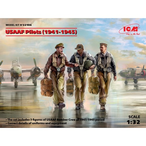 USAAF Pilots (1941-1945)  1/32