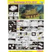 Sd.Kfz.138/1 Geschutzwagen 38 H fur s.IG.33/1 1/35