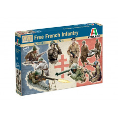 Free French Infantry (WWII)  1/72