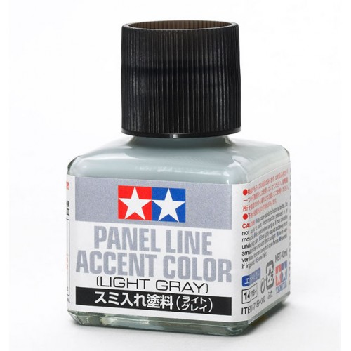 Panel Line Accent Color - Light Gray