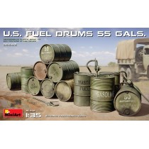 U.S. FUEL DRUMS 55 GALS. 1/35