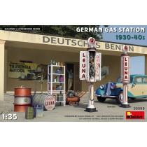 GERMAN GAS STATION 1930-40s 1/35