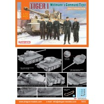 Tiger I Early Production, Wittmann's Command Tiger 1/72
