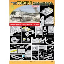 Tiger I Initial Production s.Pz.Abt.502 (Leningrad Region 1942/43) 1/72