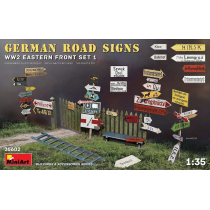 GERMAN ROAD SIGNS WW2 (EASTERN FRONT SET 1) 1/35
