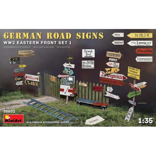 GERMAN ROAD SIGNS WW2 (EASTERN FRONT SET 1) 1/35