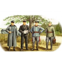 German Officers (WWII)  1/35
