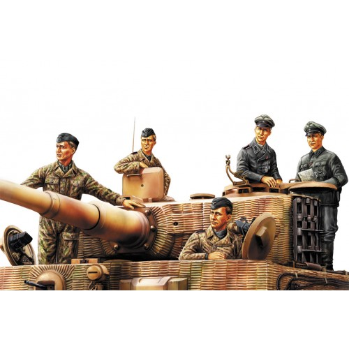 German Panzer Tank Crew Normandy 1944 (WWII)  1/35