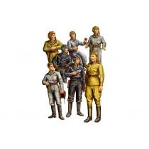 Russian Tank Crew (WWII) 1/35