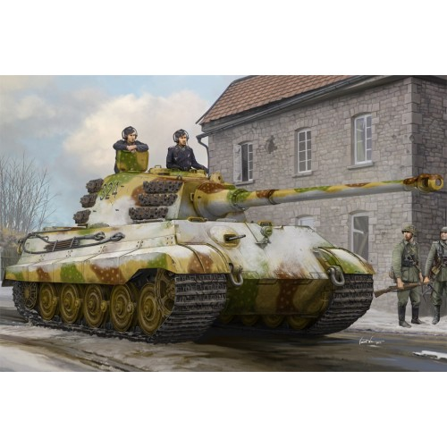 Pz.Kpfw.VI Sd.Kfz.182 Tiger II (Henschel Feb-1945 Production) 1/35