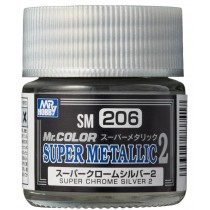 SUPER CHROME SILVER 2 10 ML.