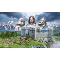 CASTLE UNDER SIEGE - 100 Years' War 1337/1453 - BATTLESET 1/72