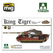 WWII German King Tiger Henschel Turret w/Zimmerit and interior SPECIAL EDITION 1/35