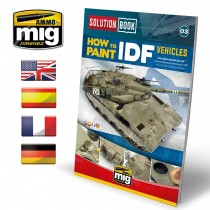 SOLUTION BOOK HOW TO PAINT IDF VEHICLES (Multilingüe)