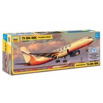 Cargo airplane TU-204-100C 1/144