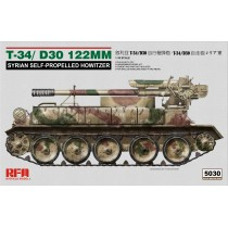34/D30 122MM SYRIAN SELF-PROPELLED HOWITZER 1/35