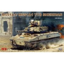 M551A1/ A1(TTS) SHERIDAN 1/35