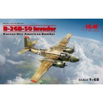 B-26B-50 Invader, Korean War American Bomber (100% new molds)  1/48