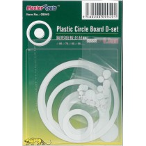 Disc & Circle Assortment B (0.3mm plasticard)
