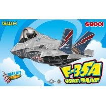 Lockheed-Martin F-35 Lightning II USAF/RAAF (Cartoon Series)