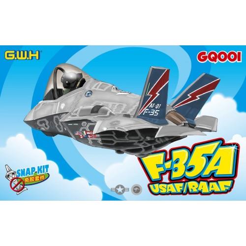 Lockheed-Martin F-35 Lightning II USAF/RAAF (Cartoon Series)