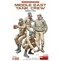 Middle East Tank Crew 1960-70's 1/35