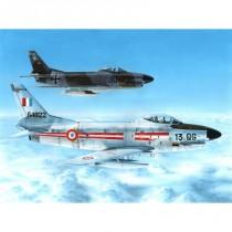 """F-86K """"Armés de l´Air & Bundesluftw 1/48"""
