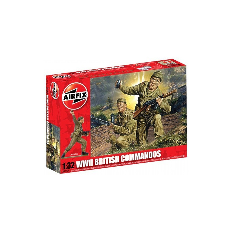 WWII BRITISH COMMANDOS 1/32