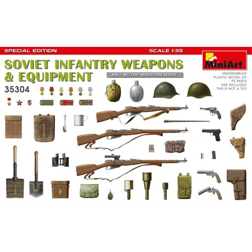 Soviet Weapons and Equipment (Infantry) Special Edition  1/35