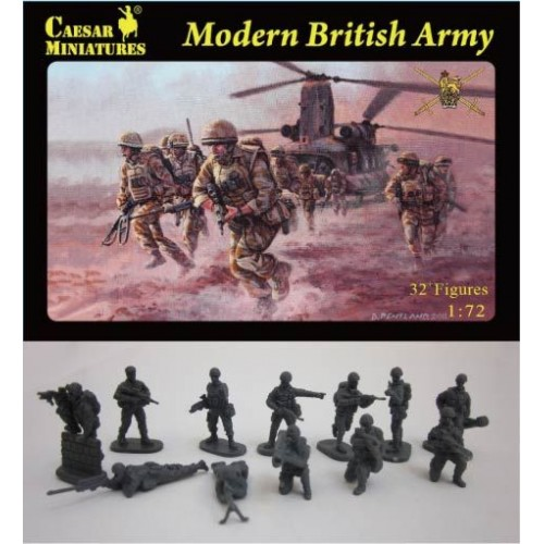 Modern British Army 1/72