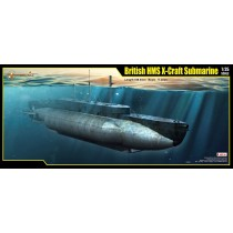 British HMS X Craft Submarine 1/35