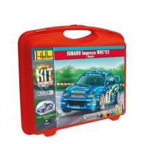 Subaru impreza WRC'02 + pista, pinturas,pincel y pegamento