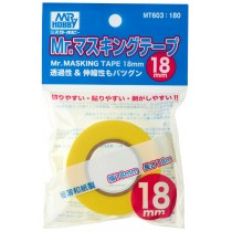 MR. MASKING TAPE 18  MM. 8  M.