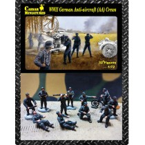 German Anti-aircraft gun crew figures (WWII) 1/72