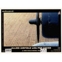 Allied Airfield with PSP cover 300X400 MM. 1/48