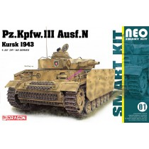 Pz.Kpfw.III Ausf.N Kursk 1943 (Neo Smart Kit 01)